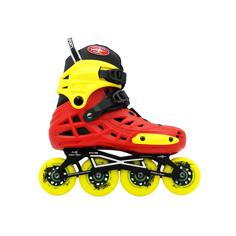 Hardboot Inline Skates for Kids with Aluminum Frames