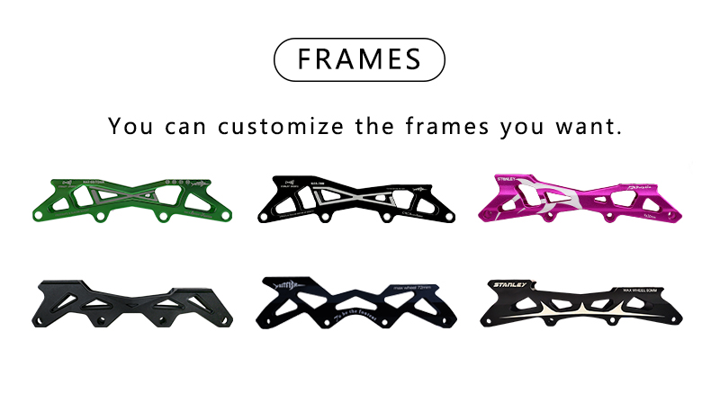 the frames of Hardboot Adjustable Inline Skates for Kids,inline skates frames manufacturer