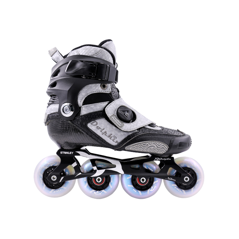 Carbon Fiber Slalom Roller Inline Skates for All Ages